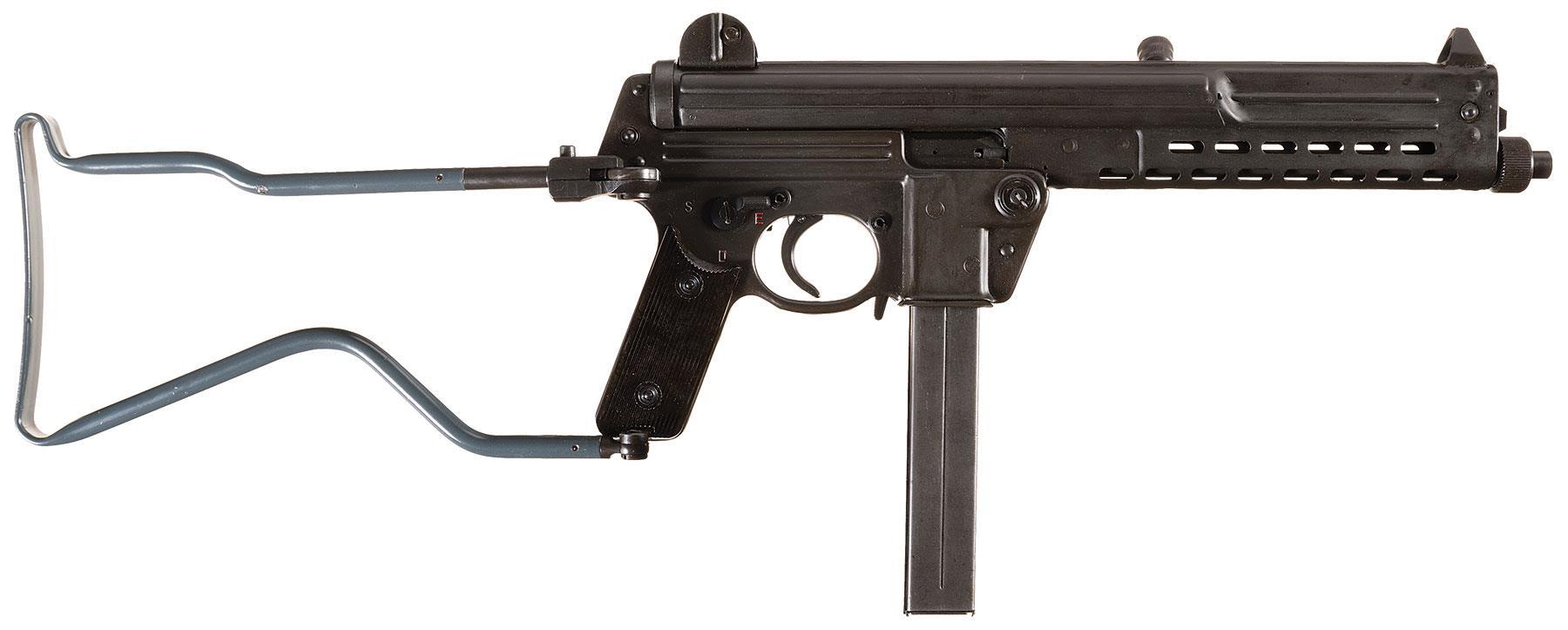 Пистолет-пулемет Вальтер MP