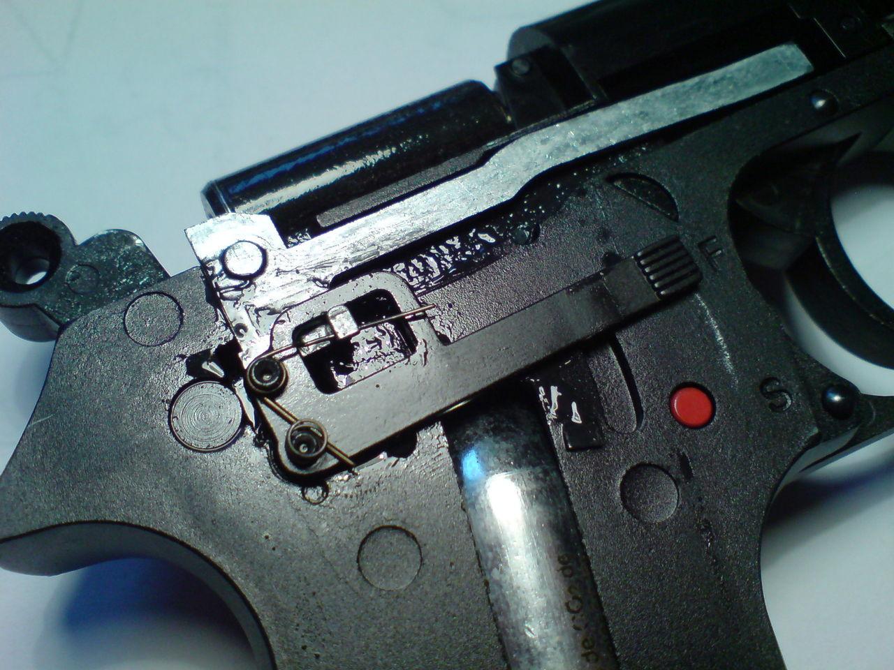 Предохранитель пистолета