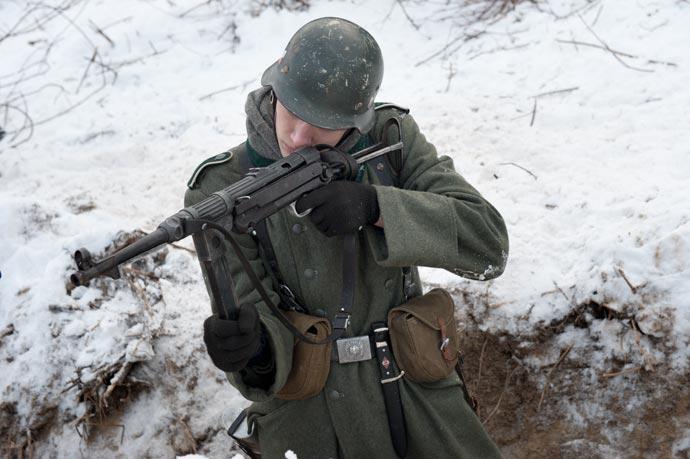Прицеливание из MP-40