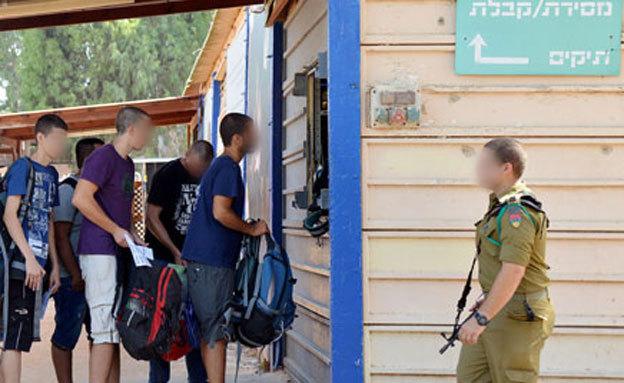 Призыв в армию Израиля