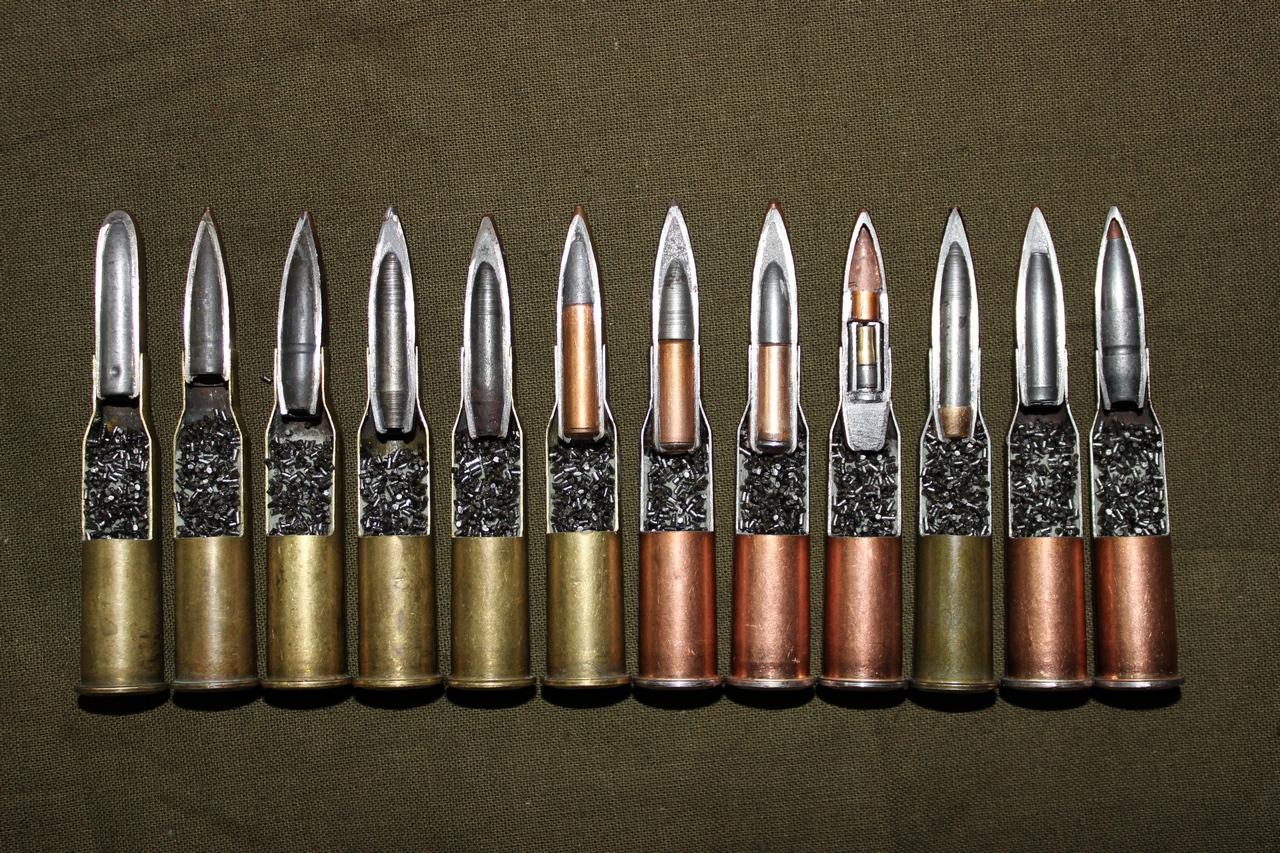 Разновидности патрона 7,62 х 54 мм