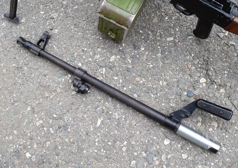Сменный ствол пулемета Калашникова