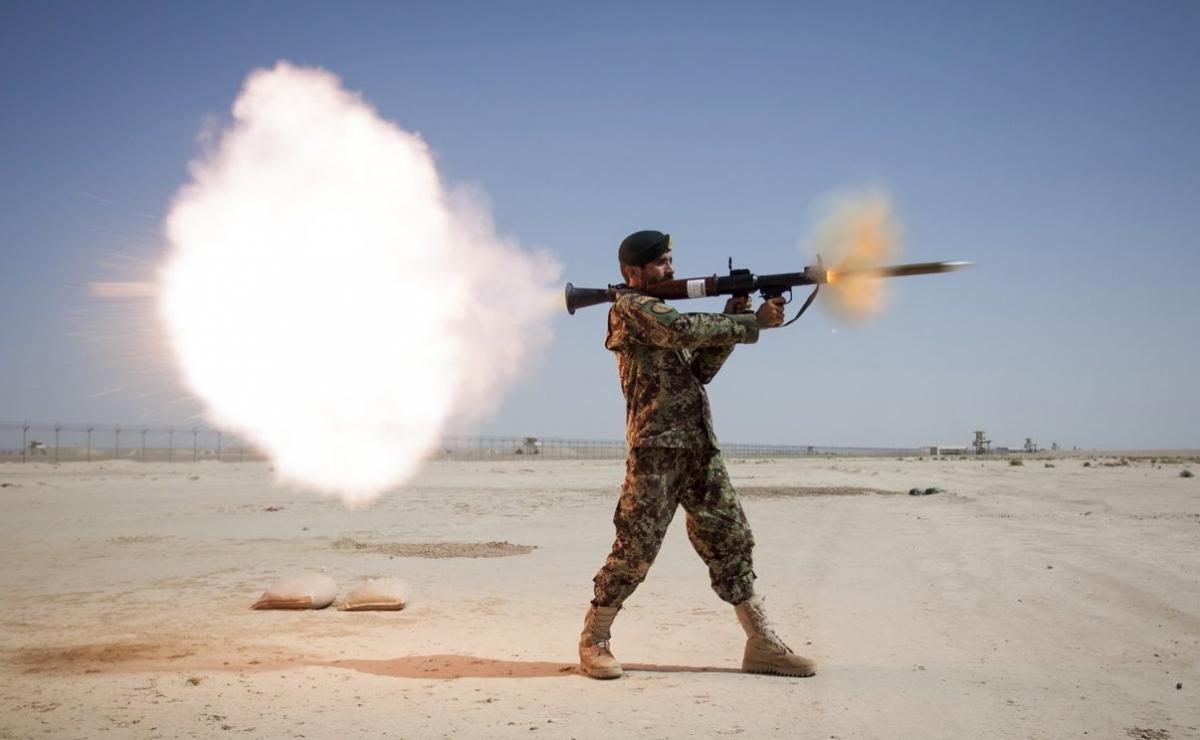 Стрельба из РПГ-7
