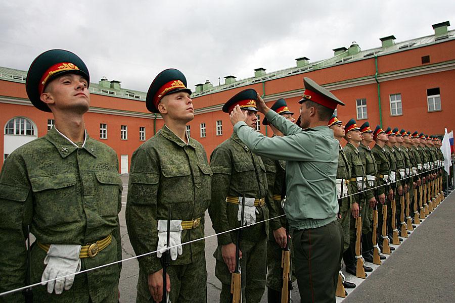 Строй Преображенского полка