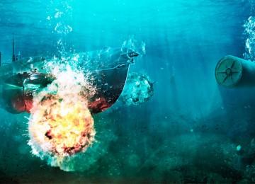 Глубинные бомбы: история, описание оружия и принципы его действия