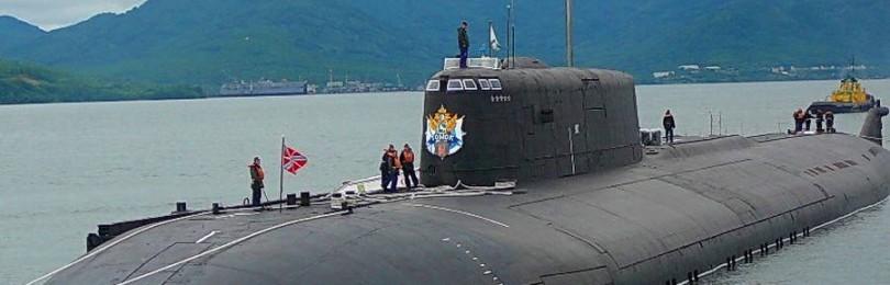 Атомные подводные ракетные крейсера проекта 949А — опора современного Российского Флота