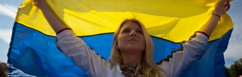 Государственный флаг Украины: байки о перевернутом знамени