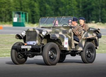 Газ-64 — основной внедорожный автомобиль времен ВОВ