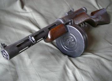 ППД: первый советский пистолет-пулемет