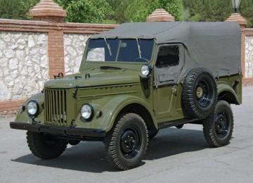 ГАЗ-69 – самый известный до середины 70-х годов 20 века советский джип