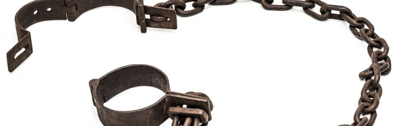 Оковы и кандалы как ограничители свободы каторжников и заключенных