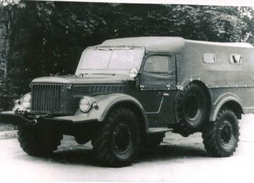 ГАЗ-62 – автомобиль, так и не вошедший в серию