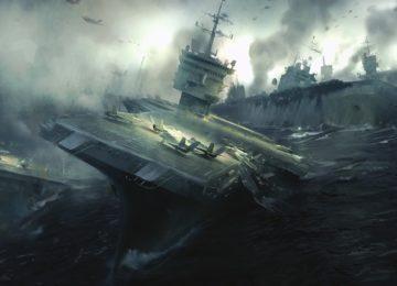 Авианосцы в бою