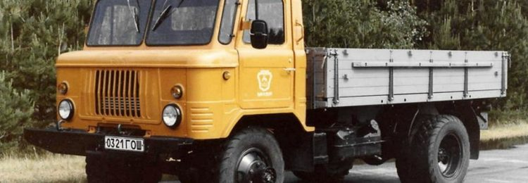 ГАЗ-66 с открытым кузовом