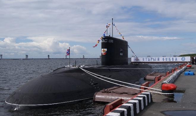 """Подводная лодка """"Старый Оскол"""""""