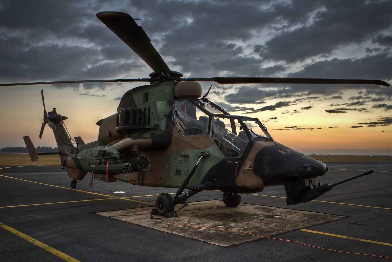 Немецкий военный вертолет
