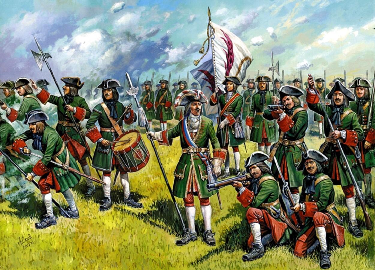 Пехота Российской империи 18-го века