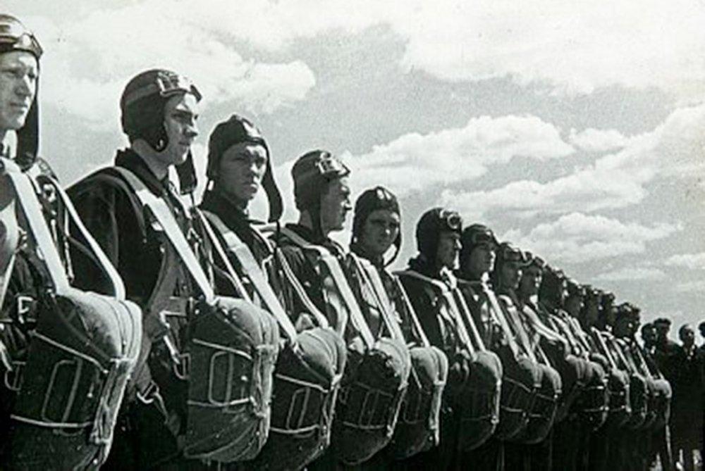 Советское обмундирование десантников