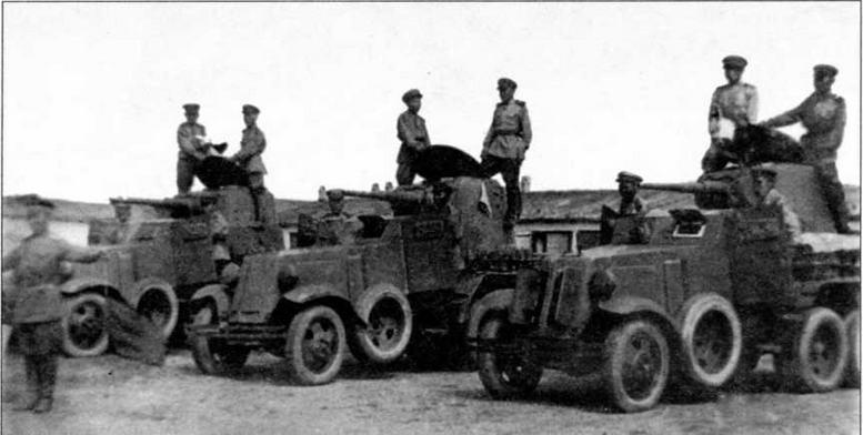 БА-6 на службе в Монголии