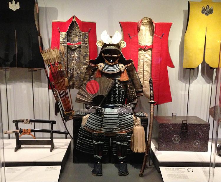 Экипировка самураев