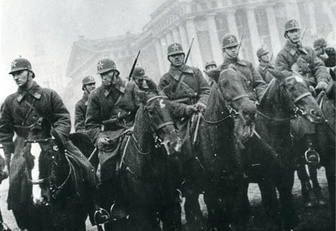 Форма конной милиции СССР