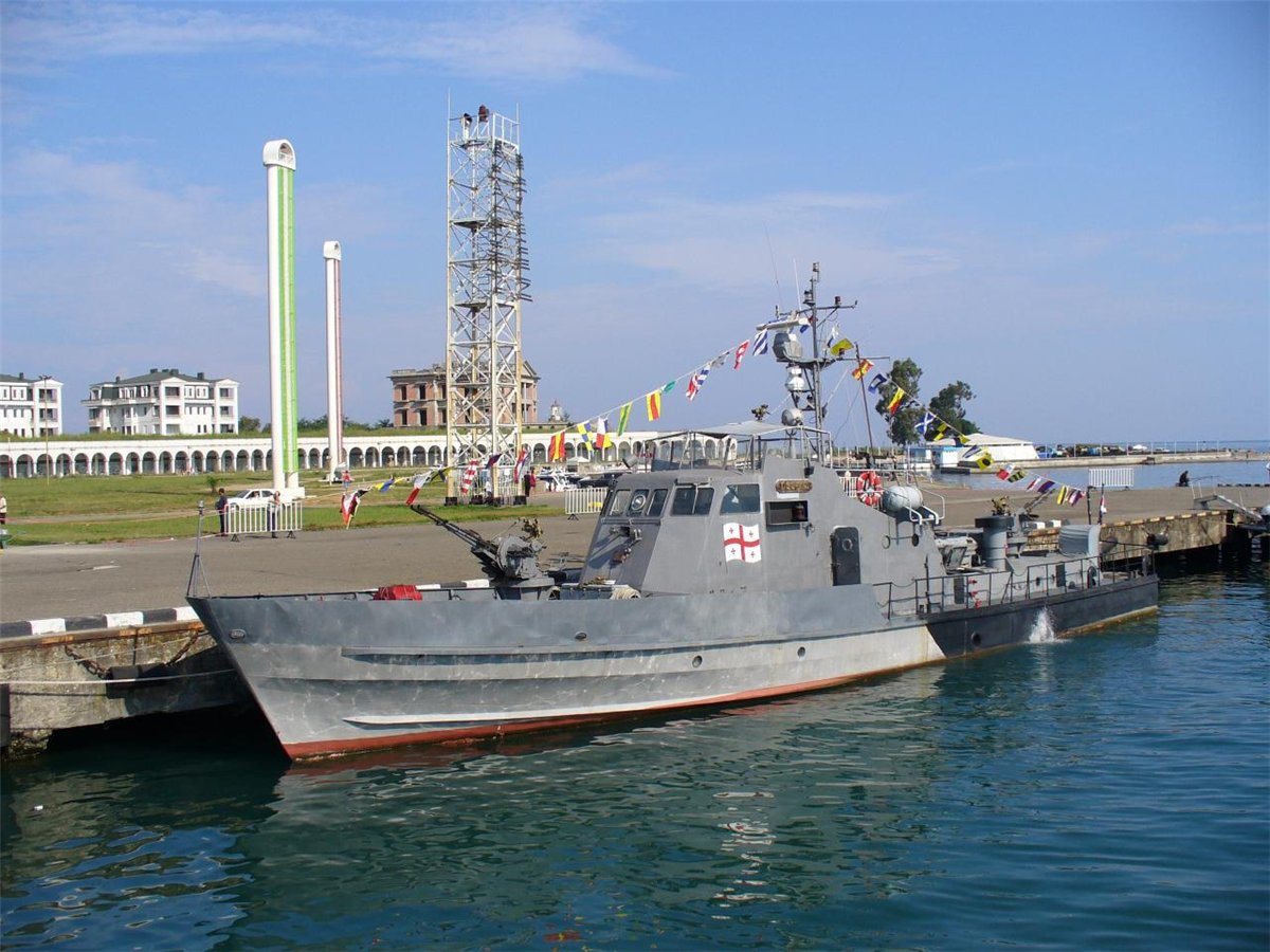 Грузинский военный катер