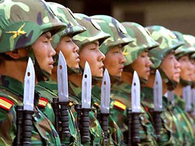 Китайская пехота
