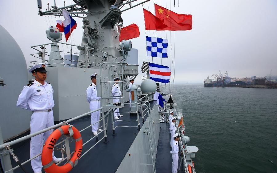Китайский боевой корабль