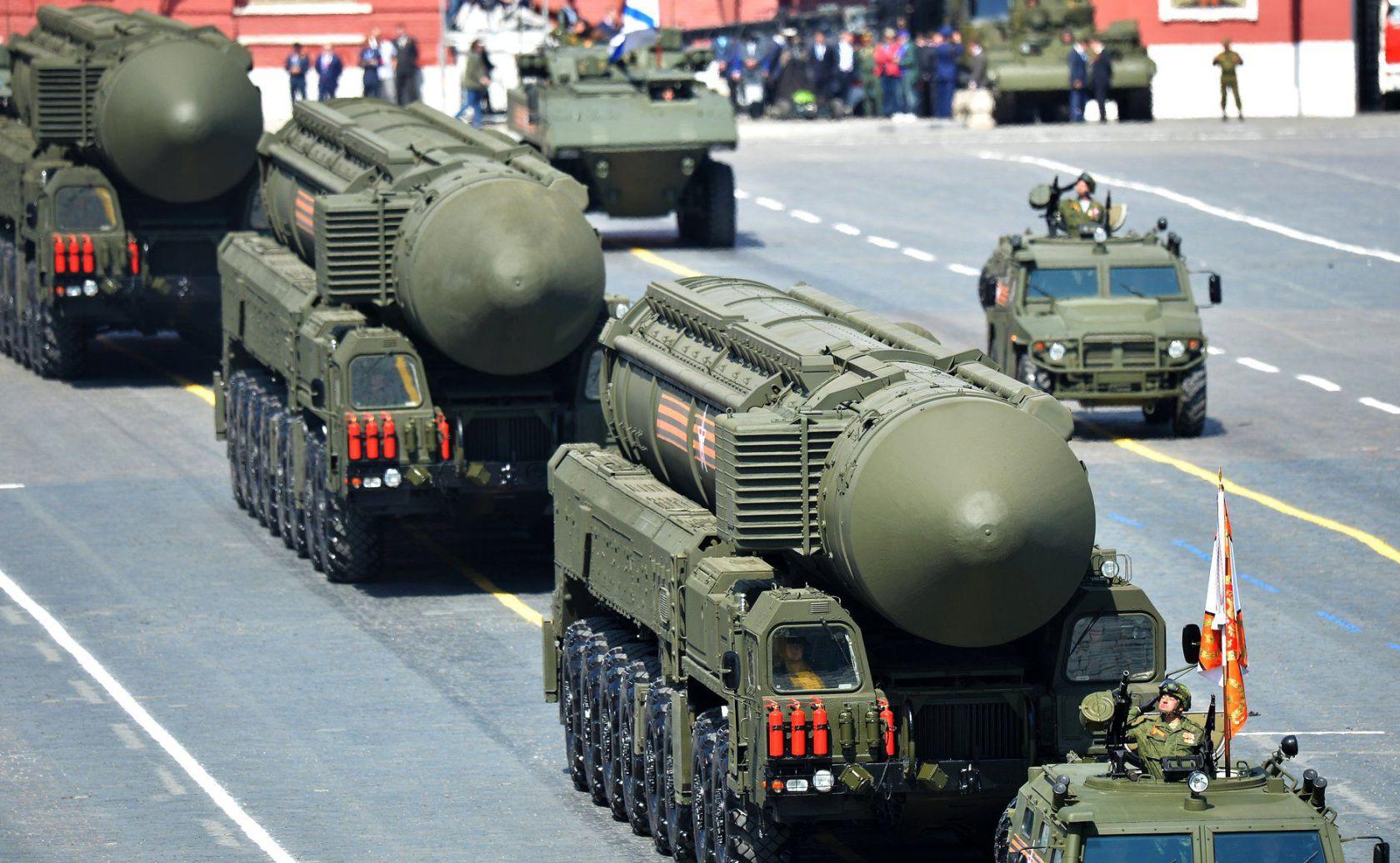 Колонна ракетного оружия