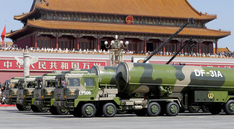 Межконтинентальные ракеты DF-31A