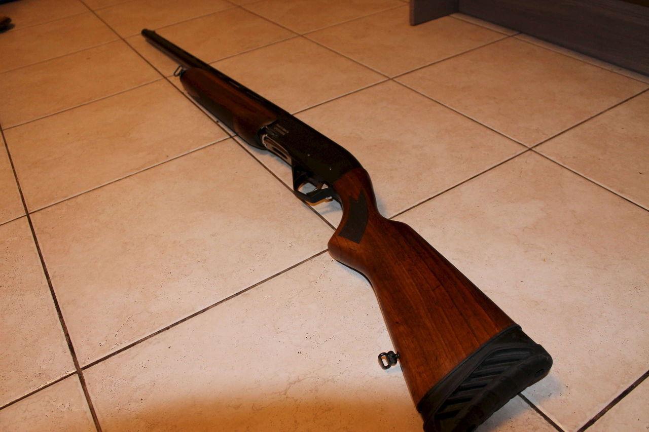 МР-155 с деревянным корпусом