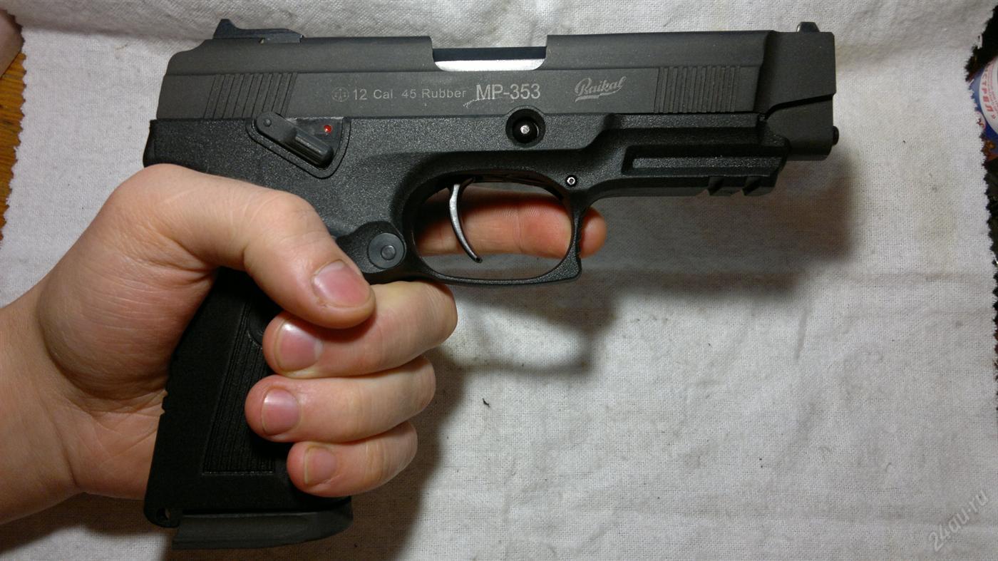МР-353 в руке
