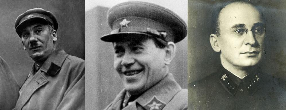 Руководители ГПУ, ОГПУ, НКВД