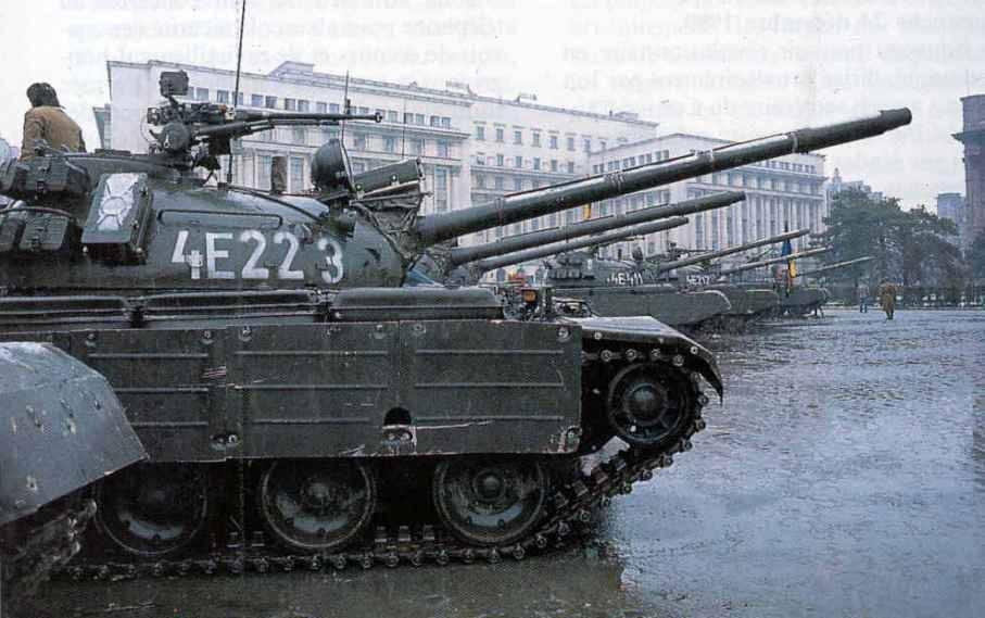 Румынские танки на базе Т-55