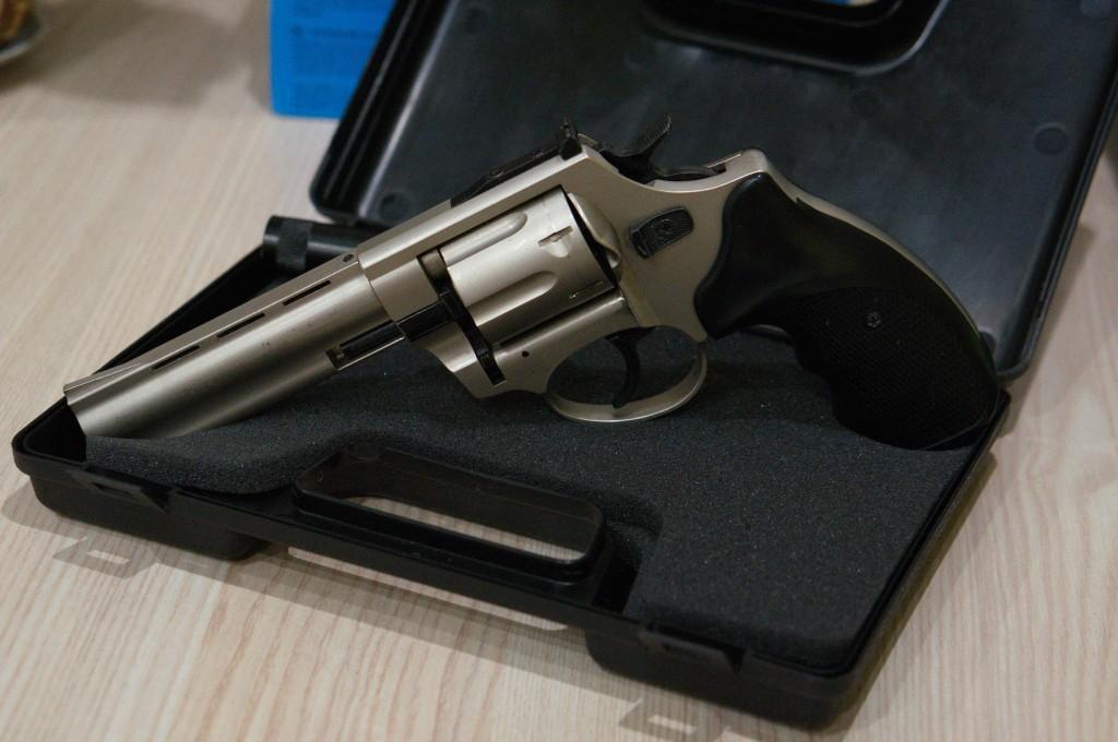 Сигнальный револьвер с кейсом