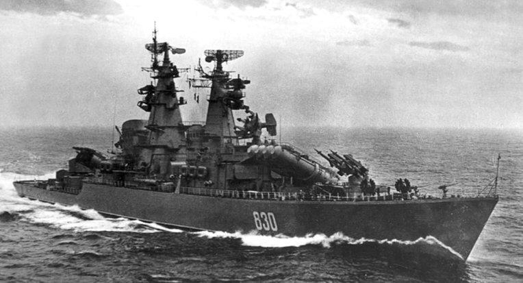Советские корабли проекта 58