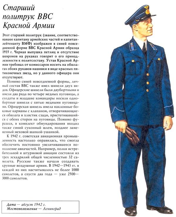 Старший политрук ВВС Красной Армии