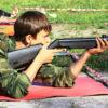Стрельба из винтовки лежа