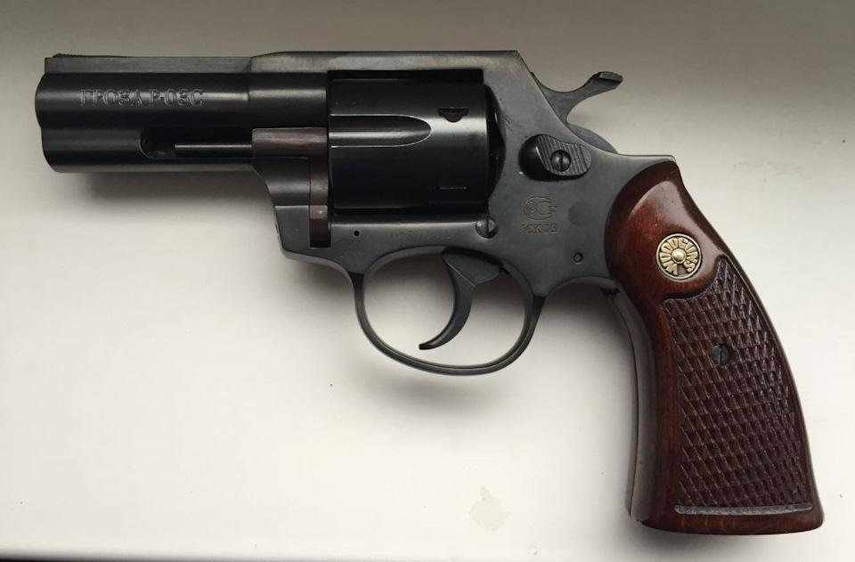 """Травматический револьвер """"Гроза Р-03С"""""""