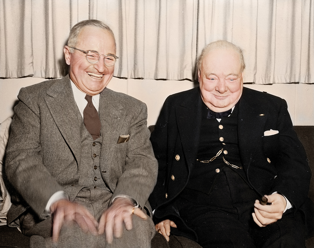 Трумэн и Черчилль