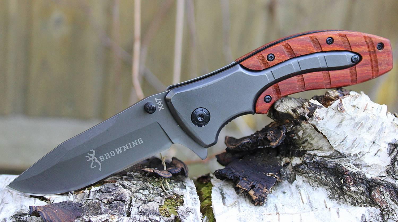 """Туристический нож """"Browning"""""""