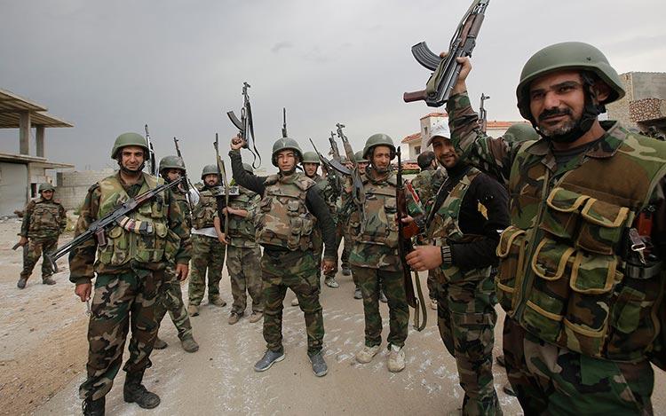 Войска Асада