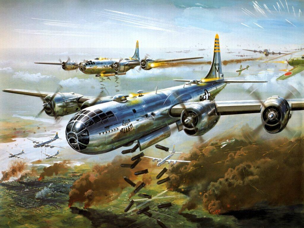 B-29 в бою