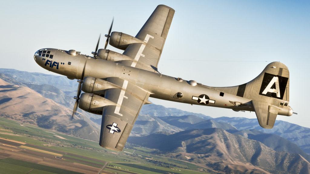 B-29 в небе