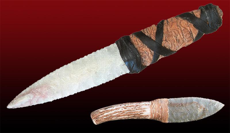 Древние охотничьи ножи