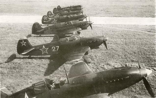 Эскадрилья ЯК-7