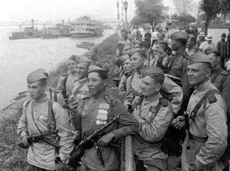 Форма Красной армии во Вторую мировую войну
