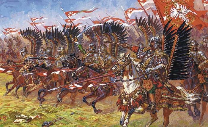 Гусары в атаке