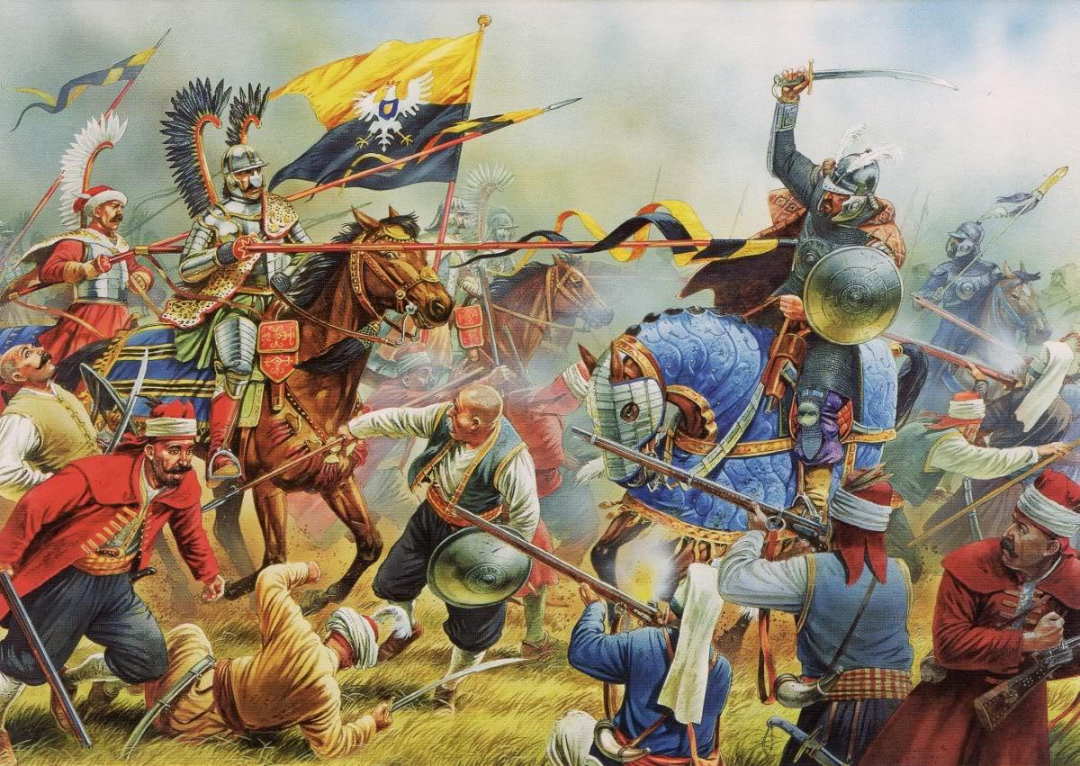 Гусары в бою