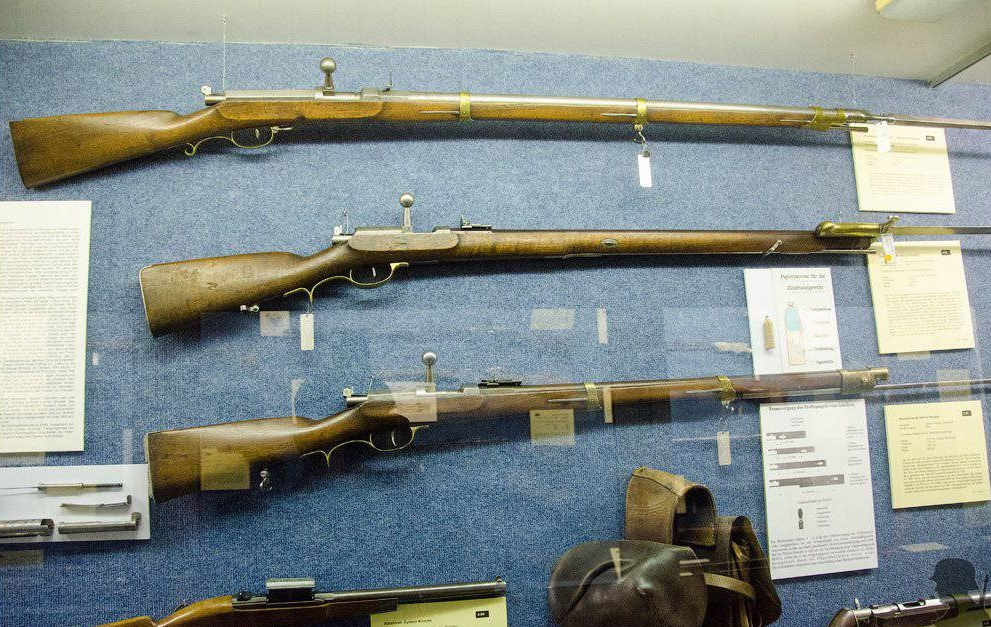 Игольчатые винтовки Дрейзе